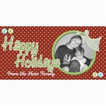 Happy Holidays card 4 - 4  x 8  Photo Cards