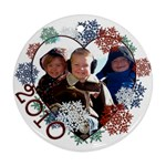 2010 ornament - Ornament (Round)