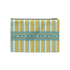 Cosmetic Bag Ella In Blue Medium 1001 By Lisa Minor   Cosmetic Bag (medium)   Dcxeavgyp8g1   Www Artscow Com Back