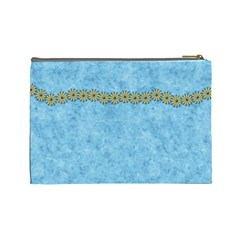 Cosmetic Bag Ella In Blue Large 1001 By Lisa Minor   Cosmetic Bag (large)   Yet7c8oznzy7   Www Artscow Com Back