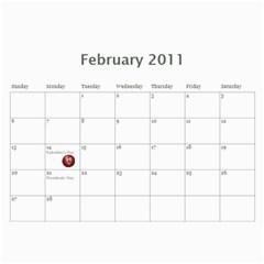 Mom Calander By Amanda   Wall Calendar 11  X 8 5  (18 Months)   M8ya1ndpjvej   Www Artscow Com Feb 2011