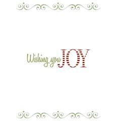 Wish You Joy Card 5x7 By Jen   Greeting Card 5  X 7    41gd95yfhv0i   Www Artscow Com Back Inside