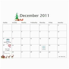 2011 Calendar By Michelle Leifson   Wall Calendar 11  X 8 5  (12 Months)   7wyjtnio8ohk   Www Artscow Com Dec 2011
