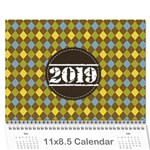 Calendar-for Guys - Wall Calendar 11  x 8.5  (12-Months)