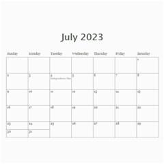 Calendar For Guys By Jennyl   Wall Calendar 11  X 8 5  (12 Months)   71bdwp4ebdx7   Www Artscow Com Jul 2017