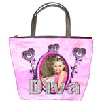 diva dress up bucket bag