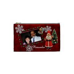 Santa Pencil Case 86 N Before By Karen   Cosmetic Bag (small)   Dat94apxqiol   Www Artscow Com Front