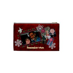 Santa Pencil Case 86 N Before By Karen   Cosmetic Bag (small)   Dat94apxqiol   Www Artscow Com Back