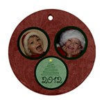 Christmas Tree Ornament - Ornament (Round)