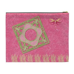 Melon Surprise Xl Cosmetic Case 1 By Joan T   Cosmetic Bag (xl)   D6k5x4xknzre   Www Artscow Com Back