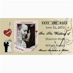 Wedding Save The Date Cards #3 - 4  x 8  Photo Cards