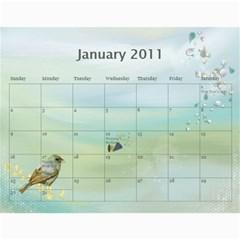 2011 Calendar By Hue Quyen Huynh   Wall Calendar 11  X 8 5  (12 Months)   Ox6icm4myq31   Www Artscow Com Jan 2011