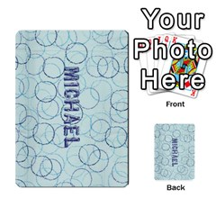 Michael s Cards By Rebecca   Multi Purpose Cards (rectangle)   Qwkx4321qqzf   Www Artscow Com Back 1