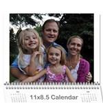 meg 2011 - Wall Calendar 11  x 8.5  (12-Months)