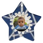 Blue star - Ornament (Star)