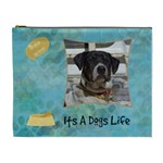 Hot Dog XL Cosmetic Case - Cosmetic Bag (XL)