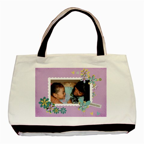 Tote Bag  Cherished Memories By Jennyl   Basic Tote Bag   94de54ispsc4   Www Artscow Com Front