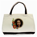 Tote Bag- Cluster Flowers - Basic Tote Bag
