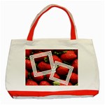 Strawberry - TOTE BAG - Classic Tote Bag (Red)