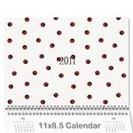 2011 Calendar Bob and Paula - Wall Calendar 11  x 8.5  (12-Months)
