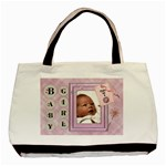 Baby Girl Classic Tote Bag - Basic Tote Bag