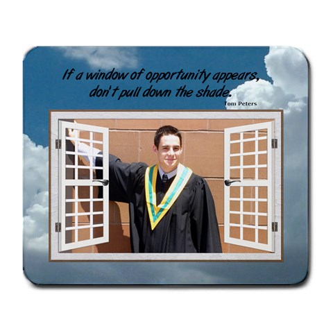 Opportunity Large Mousepad By Lil    Large Mousepad   Ge96amfstwhi   Www Artscow Com Front