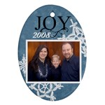 2008 family ornament - Ornament (Oval)