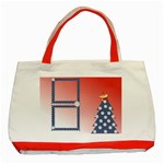 Christmas tree 1 - Classic Tote Bag (Red)