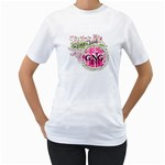 2011 Tshirt - Women s T-Shirt (White) (Two Sided)