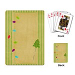 Gumdrops Lights Cards - Playing Cards Single Design