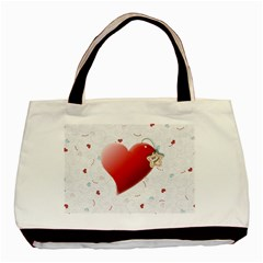 My Heart By Daniela   Basic Tote Bag (two Sides)   P4iz401yrq4n   Www Artscow Com Front