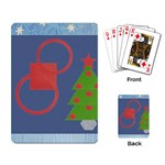 Christmas tree - Playing Cards Single Design