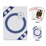 Snowflakes - Playing Cards Single Design