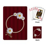 Dawn tree - Playing Cards Single Design