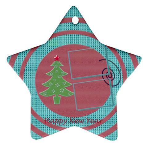 Christmas Tree By Daniela   Ornament (star)   Avlwztsdh9l0   Www Artscow Com Front