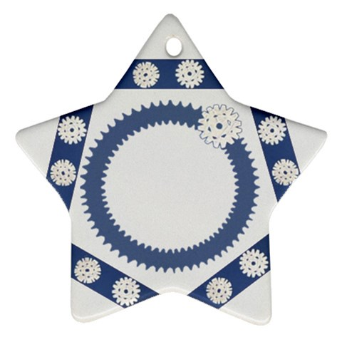 Snowflakes By Daniela   Ornament (star)   Ivininp85hlc   Www Artscow Com Front