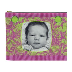 Bubblegum Xl Cosmetic Case By Joan T   Cosmetic Bag (xl)   S54hprzhyqe1   Www Artscow Com Front