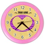 True love - Clock - Color Wall Clock