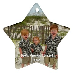 My Sweet Angels By Cindy Blair Speigle   Star Ornament (two Sides)   K0xlwtzrdkk1   Www Artscow Com Front