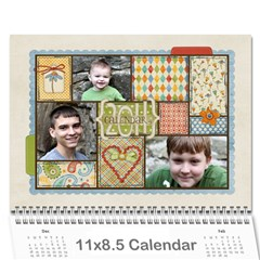 Chelle s 2011 Calendar By Anne Cecil   Wall Calendar 11  X 8 5  (12 Months)   Xnh9ehwwgigd   Www Artscow Com Cover