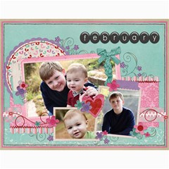 Chelle s 2011 Calendar By Anne Cecil   Wall Calendar 11  X 8 5  (12 Months)   Xnh9ehwwgigd   Www Artscow Com Month