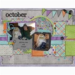 2011   Our Calendar By Julie   Wall Calendar 11  X 8 5  (12 Months)   9vs5aualx429   Www Artscow Com Month