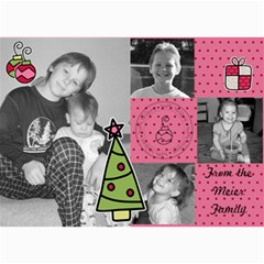 Multi Photo Christmas Card 7 By Martha Meier   5  X 7  Photo Cards   Zjg7hohamsns   Www Artscow Com 7 x5 Photo Card - 8