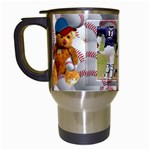 Baseball Mug1 - Travel Mug (White)