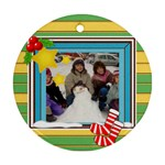 Christmas Stockings Ornament - Ornament (Round)