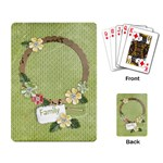 Family Playing cards - Playing Cards Single Design