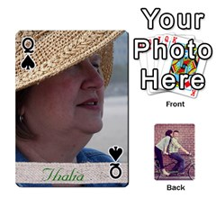 Queen Cards By Jessica   Playing Cards 54 Designs   H4y97ijv0aa2   Www Artscow Com Front - SpadeQ
