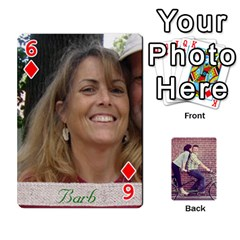 Cards By Jessica   Playing Cards 54 Designs   H4y97ijv0aa2   Www Artscow Com Front - Diamond6