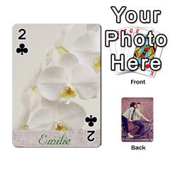 Cards By Jessica   Playing Cards 54 Designs   H4y97ijv0aa2   Www Artscow Com Front - Club2