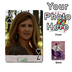 Cards By Jessica   Playing Cards 54 Designs   H4y97ijv0aa2   Www Artscow Com Front - Spade7